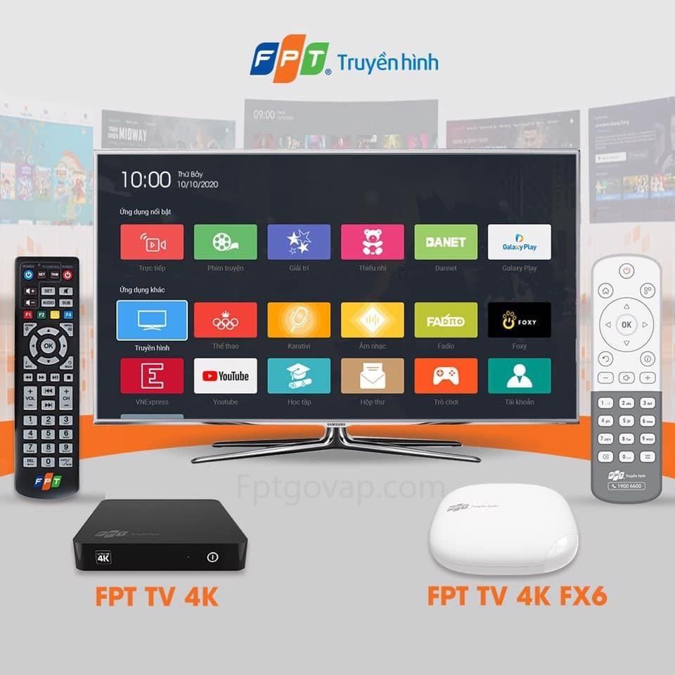Dịch vụ truyền hình của nhà mạng FPT Telecom.