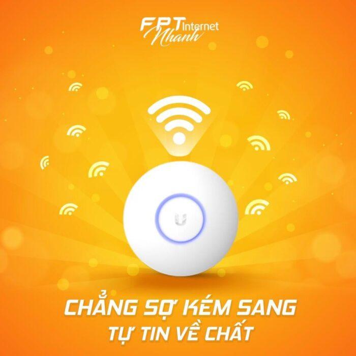 Unifi - Một trong những modem wifi chuẩn AC cao cấp của FPT Tân Bình.
