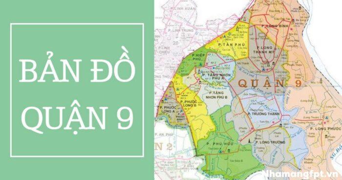 Bản đồ Quận 9 - Tp. Hồ Chí Minh