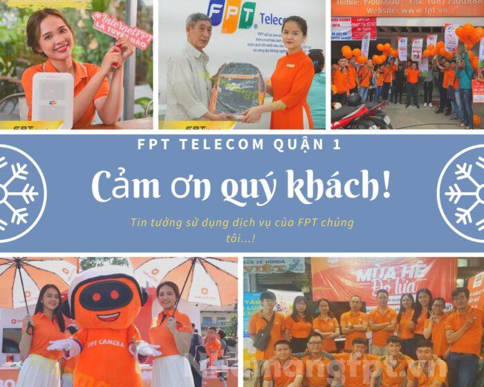FPT Quận 1 chân thành cảm ơn quý khách đã tin tưởng sử dụng dịch vụ internet FPT.