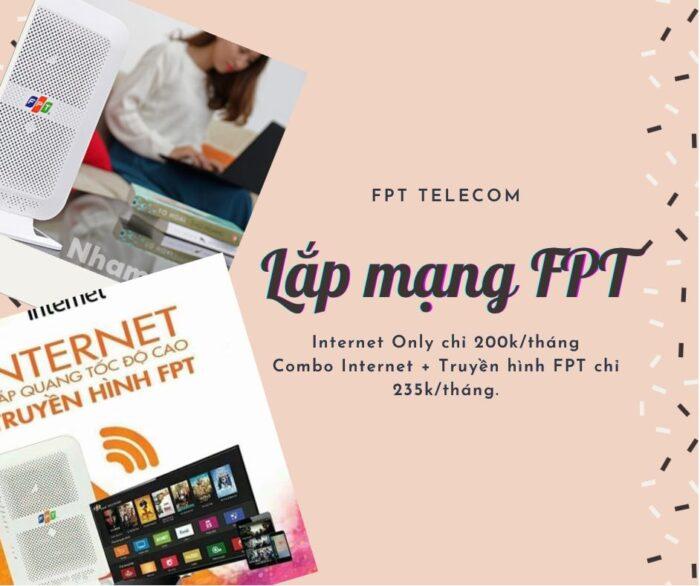 Giới thiệu dịch vụ lắp mạng FPT Quận Tân Bình chất lượng cao.
