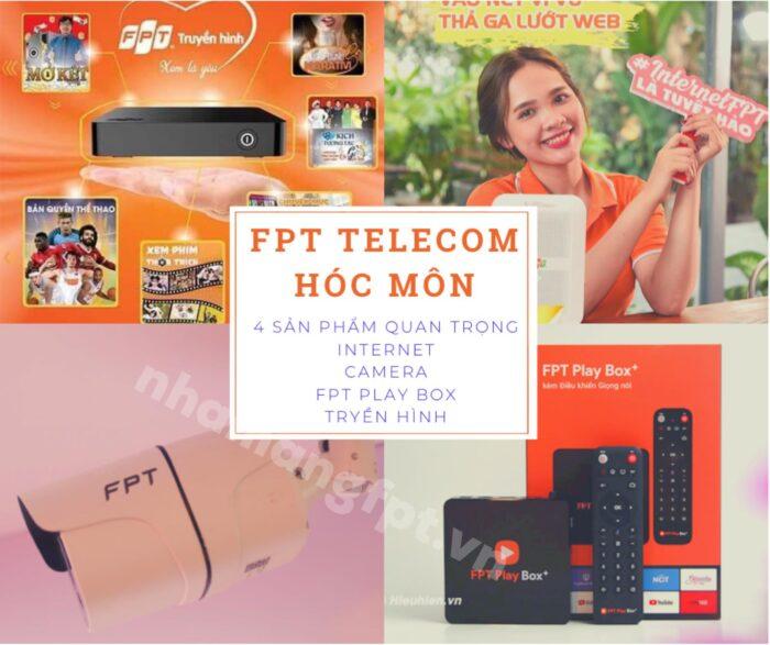 FPT Huyện Hóc Môn cung cấp các dịch vụ, sản phẩm chất lượng cao nhất.