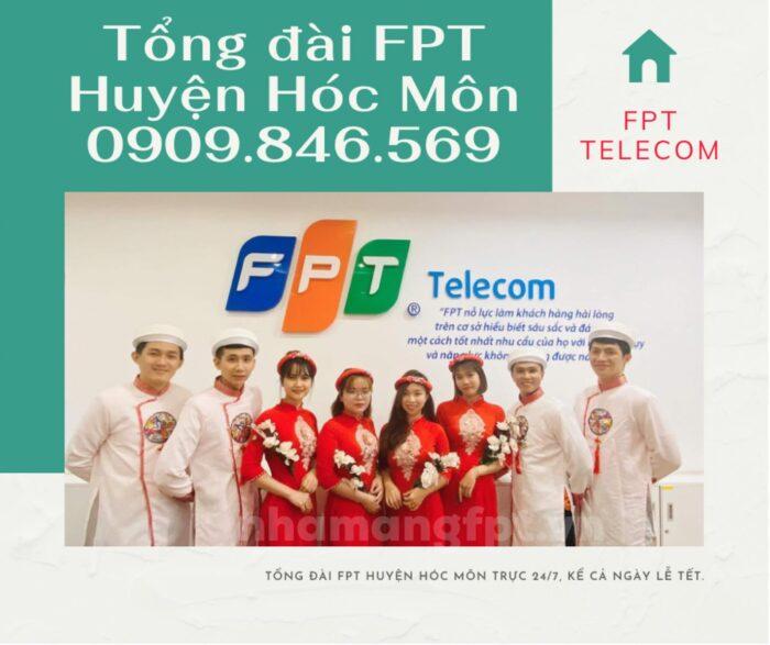 Tổng đài FPT Huyện Hóc Môn trực cả ngày 24/7, kể cả ngày lễ, tết.
