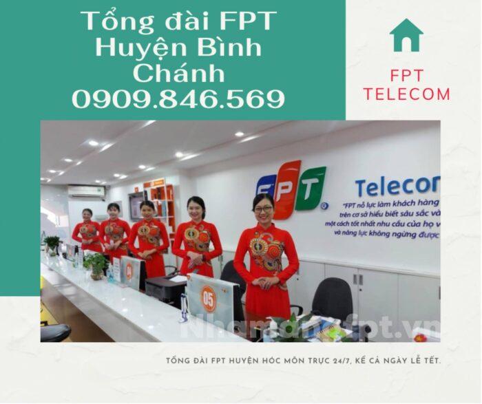 Tổng đài FPT Quận Bình Chánh phục vụ khách hàng 24/7, cả ngày lễ, ngày tết.