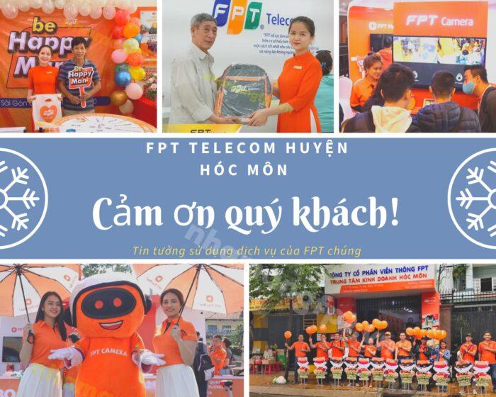Cảm ơn quý khách đã luôn tin tưởng sử dụng các dịch vụ của nhà mạng FPT Hóc Môn.
