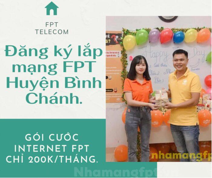 Dịch vụ đăng ký lắp mạng FPT Huyện Bình Chánh kính chào quý khách.