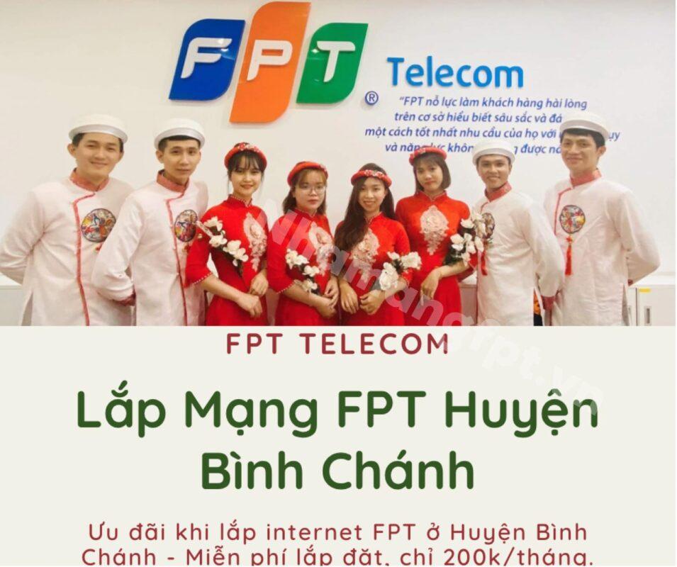 Dịch vụ lắp mạng FPT Huyện Bình Chánh kính chào quý khách.