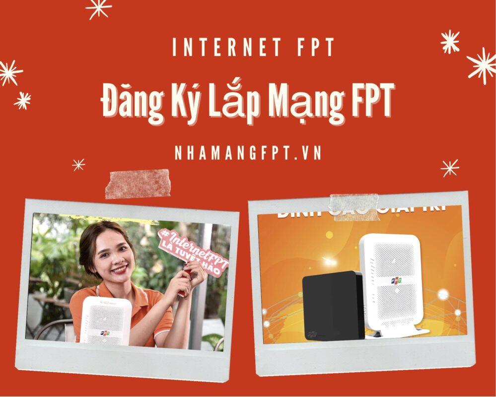 Dịch vụ lắp mạng FPT dành cho hộ gia đình.