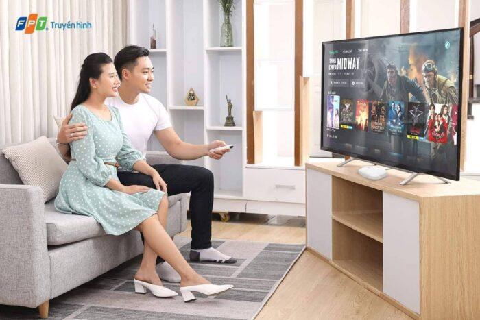 Quy trình lắp truyền hình FPT diễn ra chỉ trong vòng 24H.