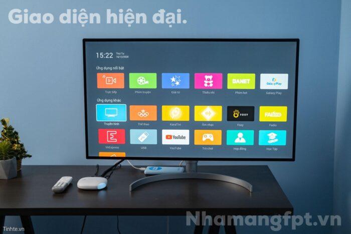 Truyền hình FPT sở hữu công nghệ IPTV tiên tiến và hiện đại nhất Việt Nam.