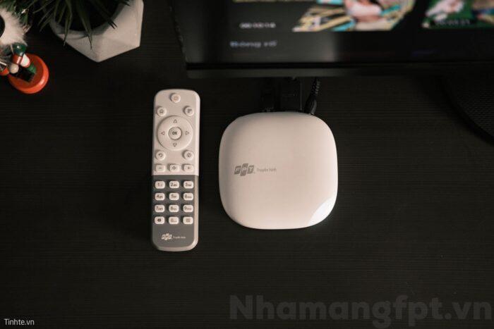 Đầu thu 4K của truyền hình FPT đẹp, tinh tế và nhỏ gọn.