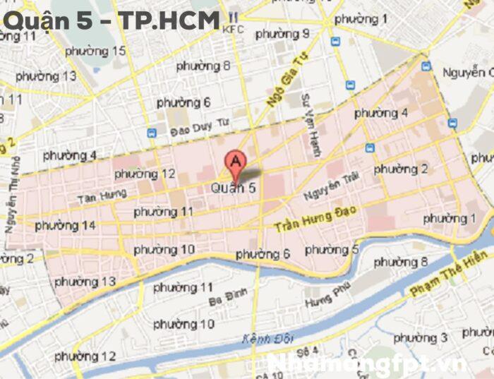 Bản đồ Quận 5 - Tp.HCM