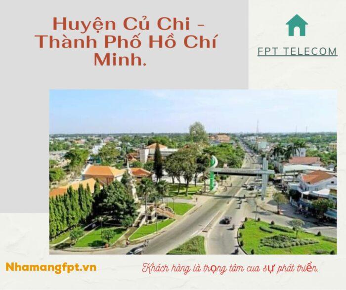 Củ Chi là Huyện ngoại thành và xa trung tâm TP.HCM nhất trong các Quận, Huyện.
