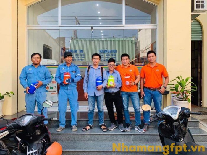 Đội ngũ kỹ thuật chuyên nghiệp của FPT Củ Chi luôn hoàn thành tốt nhiệm vụ.