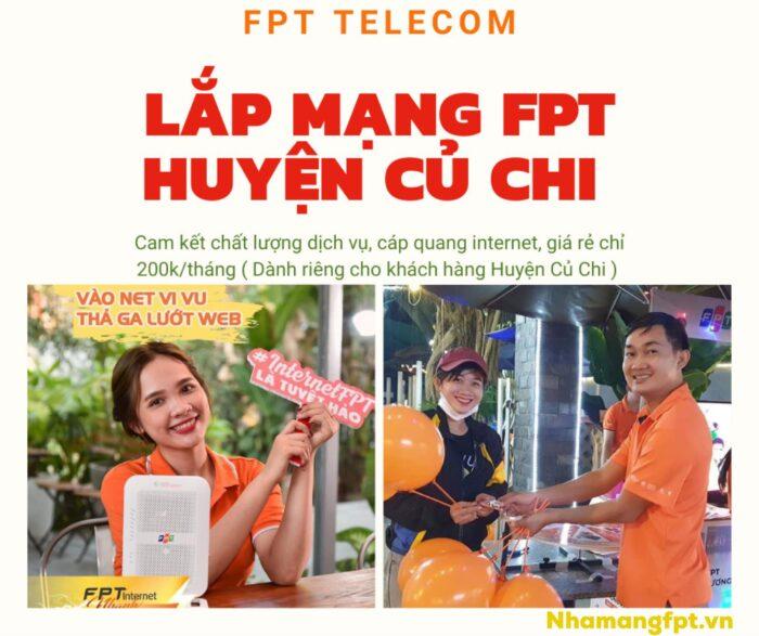Dịch vụ lắp mạng FPT Củ Chi xin kính chào quý khách.