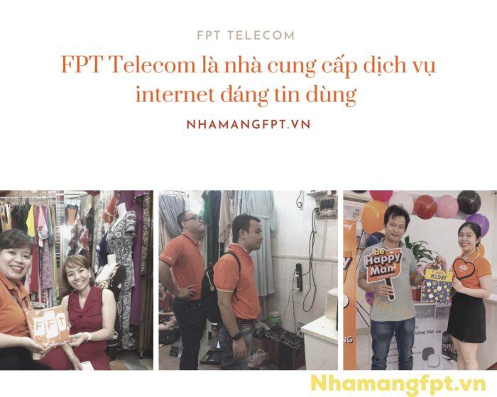 FPT là nhà cung cấp dịch vụ internet được yêu thích nhất nắm 2020/