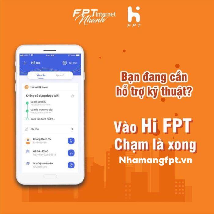 HI FPT - Siêu ứng dụng quản lý hợp đồng của FPT Telecom.