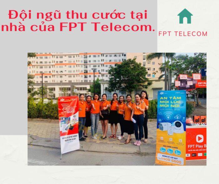 Thu cước tại nhà là hình thức thanh toán cước mạng FPT an toàn nhất.