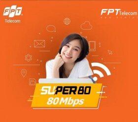 Gói cước Super80 FPT
