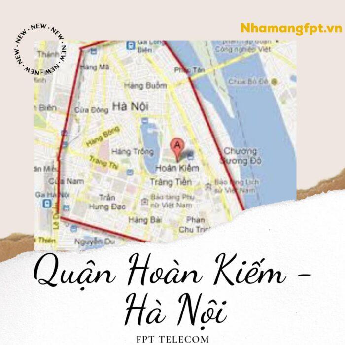 Bản đồ Quận Hoàn Kiếm - Thủ Đô Hà Nội.