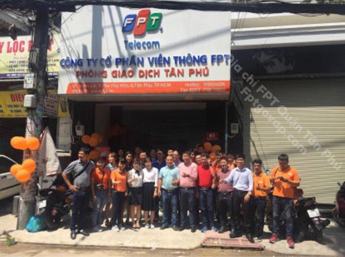 Giới thiệu chi nhánh FPT Quận Tân Phú năm 2021.