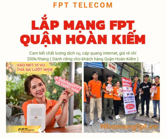 Dịch vụ lắp mạng FPT Quận Hoàn Kiếm xin chào quý khách.