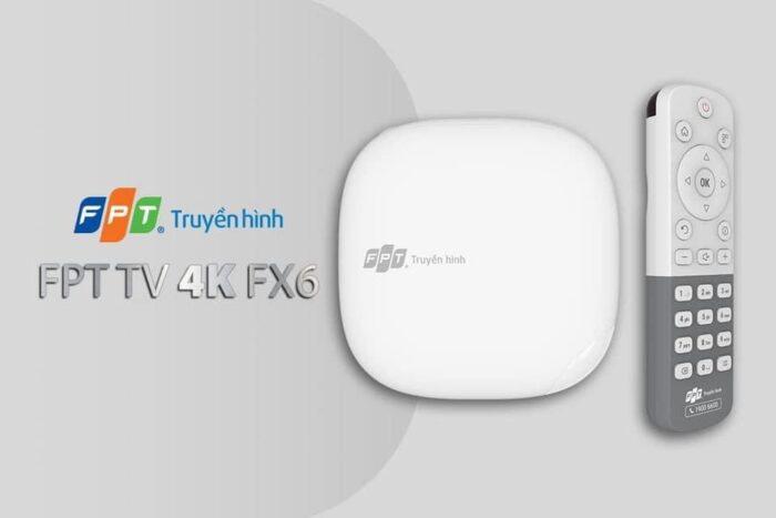 Giao diện đầu thu truyền hình chuẩn 4K của FPT Telecom năm 2021.