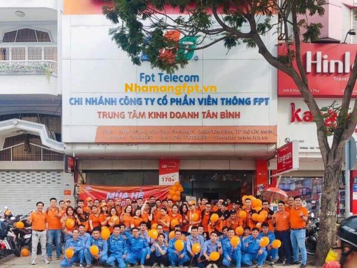 Địa chỉ FPT Quận Tân Bình ở 340E - 340F Hoàng Văn Thụ, Phường 4.