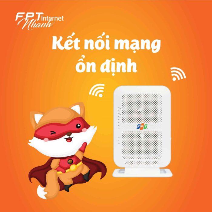 Internet cáp quang - Một sản phẩm hàng đầu của FPT Telecom Quận 2.
