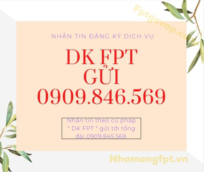 Khách hàng có thể đăng ký tư vấn lắp mạng FPT thông qua nhắn tin.