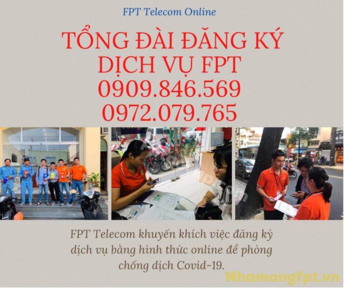 Tổng đài đăng ký dịch vụ Internet FPT phục vụ 24/7, kể cả ngày lễ, tết.