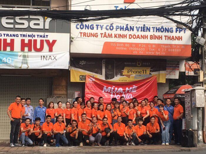 FPT Quận 2 và FPT Quận Bình Thạnh dùng chung một chi nhánh tại 155 Đinh Bộ Lĩnh, Phường 26, Quận Bình Thạnh.