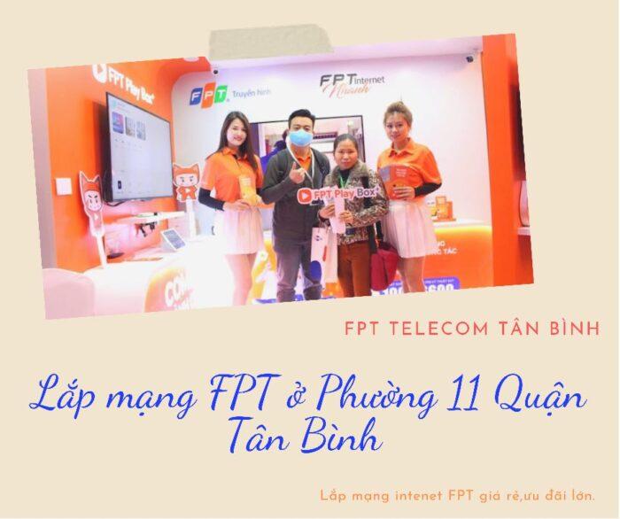 Lắp mạng ở Phường 11 Quận Tân Bình - Hãy chọn FPT.