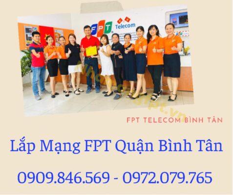 Dịch vụ lắp mạng FPT Quận Bình Tân kính chào quý khác.