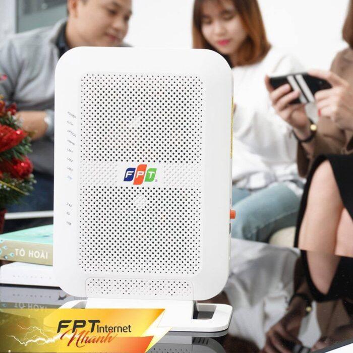 Băng tần mới 5.0Ghz của modem FPT AC1000C cho khả năng phát wifi đạt hiệu suất tối đa.