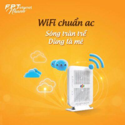 Modem wifi FPT là modem wifi chuẩn AC 2 băng tần thế hệ mới nhất ở Việt Nam.