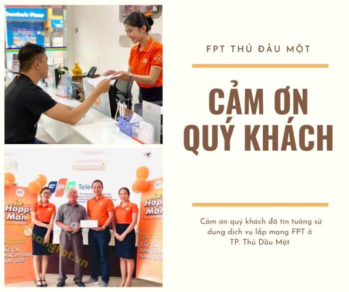 Cảm ơn quý khách ở Thủ Dầu Một đã luôn ủng hộ FPT Telecom những năm qua.