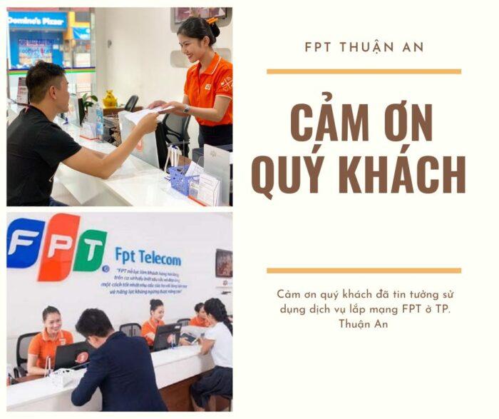 FPT Telecom cảm ơn quý khách đã luôn tin tưởng và sử dụng dịch vụ FPT.