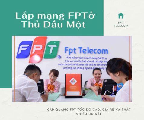 Dịch vụ lắp mạng FPT ở Thủ Dầu Một kính chào quý khách.
