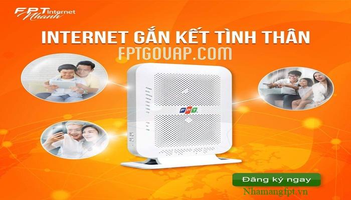 Miễn phí modem wifi chuẩn AC 2 băng tần khi đăng ký lắp mạng.